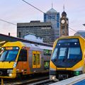 pictures of new waratah sydney trains at central station